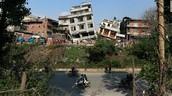 EARTHQUAKE STRIKES NEPAL