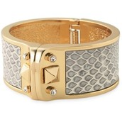 The Bello Bangle with snike like inlay