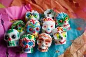 Cinco de Mayo candy skulls
