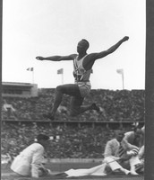 Jesse owens during olympics of 1936