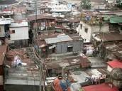 The slum areas of Kuwaut