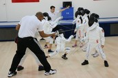 Games, introduction classes, REAL fencing and much more!