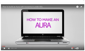 AURASMA - create an Aura to represent data
