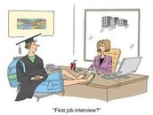 Most important whem interviewing!
