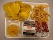 comida de escuela secondaria