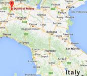 Duomo di Milano map
