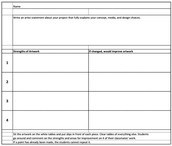 Target Learner Questions or Learning Outcomes with this Peer Feedback Form