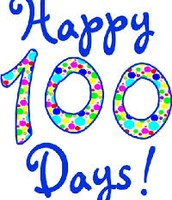 Celebration of 100th day of Kindergarten on Wed, Feb 10th