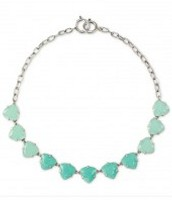 Somvervell Necklace Aqua/Silver, Current retail £45, my sample sale price £22.50
