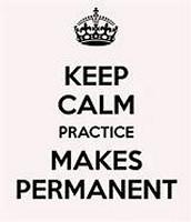 Goals+Review+Adjust+Practice=Permanent Results