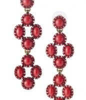 SOLD Sardinia Chandleliers Red