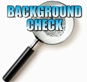 Background Check Procedure Reminders