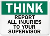 Report Your Employer About Hazard and Injuries