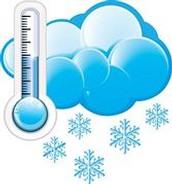 Es tiempo de tener un clima frío