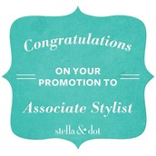 Promoted to Associate Stylist