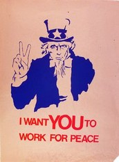 Uncle Sam wants Peace!