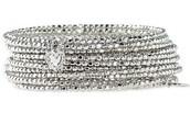 Bardot Spiral Bracelet - Silver