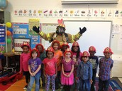 Ms. Christine Jones and Gold's K class
