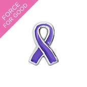 Pancreatic Cancer Support Ribbon Charm