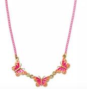 Mini Mariposa Necklace $22