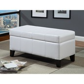 Modus Urban Seating Leatherette Bedroom Storage Ottoman ~ $108.99
