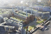 Ironmongery supply well under way at Battersea Power Station