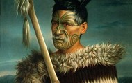 Maori Warrior paintings by Gottfried Lindauer
