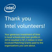 Intel Matching Grants