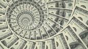 Literally rains Money