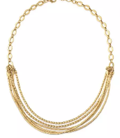 As a Beaded Statement Necklace