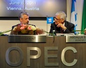president and workers in OPEC