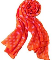 Union Square Scarf Hot Pink Elephant- Was $59 Now $35