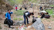Earth Day Cleanup: Jiankou 'Big West' Wall