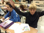 1st period Spanish-lots of energy :)