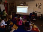 TEKS 4.2B in Ms. Rivas' Music Class