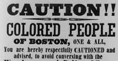 A Boston sign