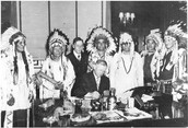 New peace and acceptance of American-Indians by the U.S. Government