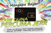 Modal RM5 sudah boleh menjalankan bisnes postpaid XOX.. Jangan lepaskan peluang keemasan ini