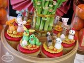Chinese New Years cupcakes