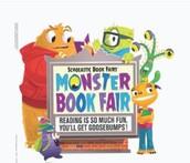 Scholastic Book Fair through Friday noon!