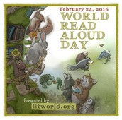 World Read Aloud Day - February 24th