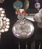 Handmade Necklace & Earrings Set