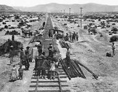 Transcontinental Railroad Construction Continues