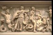 Relieve del Altar de Zeus