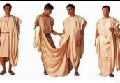 vestuario romanos