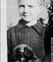 Roald Dahl as a kid