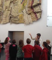 3rd Grade loved the Nelson Atkins Museum of Art
