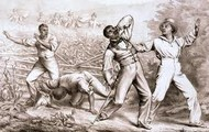 Slaves beaten for running away