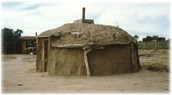 lived in grass houses