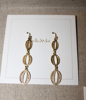 Kimberly Drop Earrings - Gold
